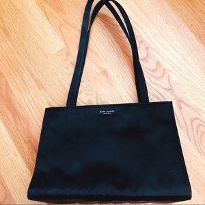 Black Kate Spade Structured Shoulder Bag